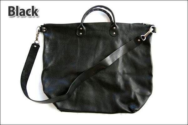 ★dean. ub 07 Studded Handle Railway Bag